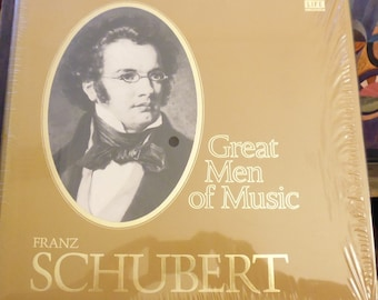 SALE Schubert TimeLife Great Men of Music, vinyl records, classical music, Death and the Maiden, Julliard Quartet, Seiji Ozawa,Charles Munch