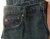 Vintage Levi's 551 jeans, black - Sale