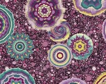 Benartex - Circle Play - Purple by Ann Lauer