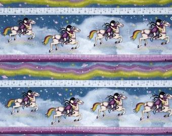 Quilting Treasures - SANTORO'S GORJUSS - Rainbow Dream Stripe