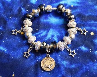 READY TO SHIP, Zodiac Capricorn Bracelet