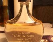 L'air du Temps by Nina Ricci 1.7oz edt splash / almost full vintage perfume