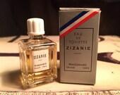 Zizanie by Fragonard Men Vintage 1/3oz Edt Miniature Splash Original Formula