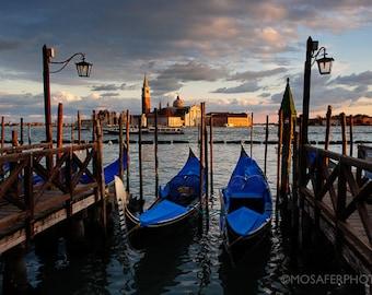 Travel Photography, Venice, Italy, Gondolas, Home Decor, Wall art, Fine Art Print, Photography, Gift for him, Christmas gift idea, Art Print