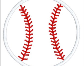 aplique baseball machine embroidery design, applique baseball, embroidery baseball, instant download, baseball  applique instant download