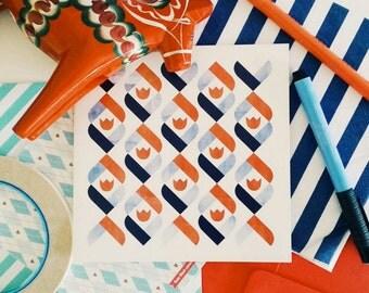 Dutch Tulip Greeting card or greeting card set
