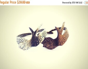 FALL SALE bird friendship rings, feather rings, wing ring,  ring set, birthday gift, chrsitmas gift, friendship gift