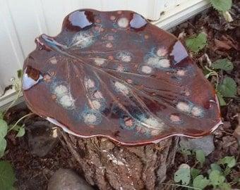 Bird Bath Pottery Garden Sculpture