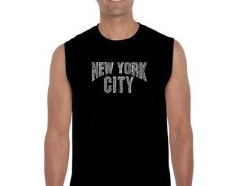 Men's Sleeveless Shirt - NYC NEIGHBORHOODS