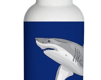shark Personalized Aluminum Water Bottle