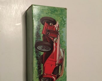 avon 1936 mg car decanter in original box