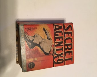 secret agent x-9 little book 1936 whitman
