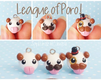 League of Poro! Chibi Poro Charm
