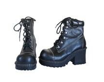 90s Platform Boot Black Platform Boot 90s Boot Black Lace Up Boot Black Ankle Boot Lace Up Ankle Boot Women Boot 90s Chunky Boot Vegan Boot