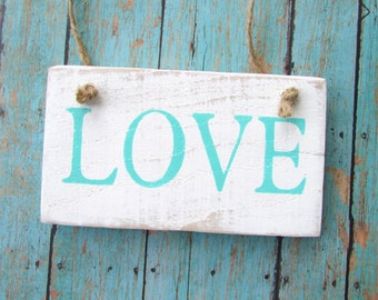 Rustic Love Sign, Love Reclaimed Wood Sign, Photo Prop, Chair Sign, Valentines, Engagement, Shower