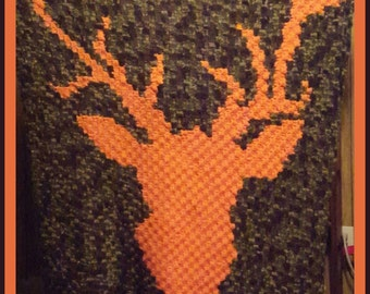 C2C Graph, Deer C2C, C2C Graph, and Written Word Chart, Deer Afghan, Deer Graph, Deer C2C, Buck Afghan, Buck Graph, Buck C2C