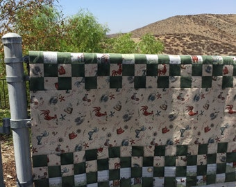 Quilt ready to be finished, free shipping, quilt unfinished, Quilt top, quilt handmade, quilt patchwork, quilt country