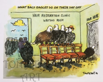 What Bald Eagles Do On Their Day Off