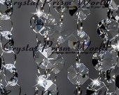 6 Ft Real Crystal Glass Garland Wedding Chandelier Chain Strands