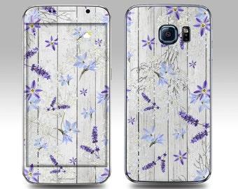 LAVENDER WOOD Galaxy Decal Galaxy Skin Galaxy Cover Galaxy S6 Skin, Galaxy S6 Edge Decal Galaxy Note Skin Galaxy Note Decal Cover
