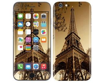TOUR EIFFEL iPhone Decal iPhone Skin iPhone Cover iPhone 6 Skin, iPhone 6 Plus Decal iPhone 6S Skin iPhone 6S Decal Cover iPhone 5 5S