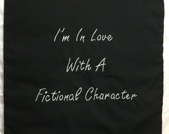 Fandom Inspired: In Love with a Fictional Character Throw Pillows