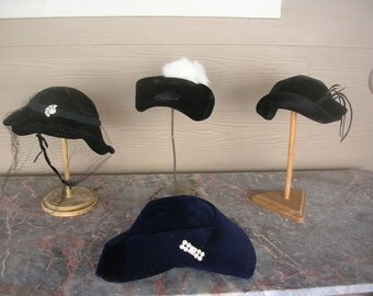 "4 Vintage Ladies Hats From the 1920's 1930""s"