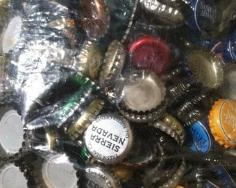 270 Assorted Bottlecaps for Upcycling