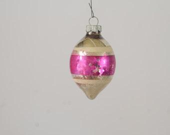Vintage Christmas Ornament Glass Christmas Shiny Brite Ornament 386