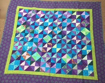 Purple Geometric Quilt