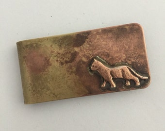 Cat Money Clip