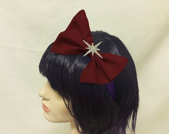 Sailor Saturn Bow Headband