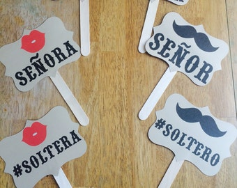 Spanish Wedding Photo Booth Props