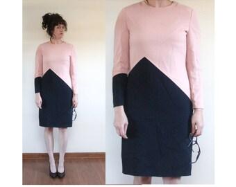 80s  Bill Blass New Wave Dress size 10