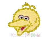 Bird Digital Machine Embroidery Applique Design