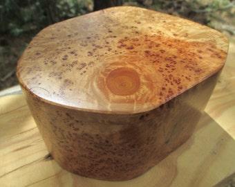 Natural Alligator Juniper Wood Burl Pet Urn or Memorial Keepsake