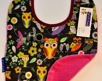 SALE 20% OFF Bib 'Owl'