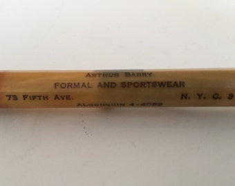 Vintage Redipoint Mechanical Pencil  Stylepledge Clothing Corp. 73 Fifth Avenue New York City