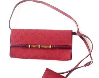 Gucci 70s shoulder bag + cardholder