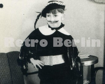Vintage Photos of Children, Child Performers 1940s, Children in Muskateer Costumes, Collector Photos of Kids Germany 1940