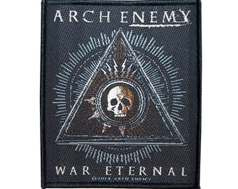 "Band Art ""Arch Enemy: War Eternal"" Patch Melodic Death Metal Fan Sew-On Applique"