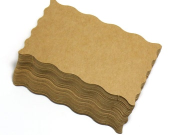 Kraft Paper Business Cards (100) Paper CW04 - Blank