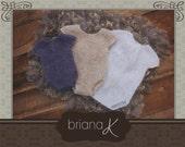 Knit Romper PATTERN Instant Download, Newborn- 12 Month Sheer Onesie Romper