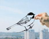 Bird - Handmade Original Paper Cut Home Decor Gift - UNFRAMED