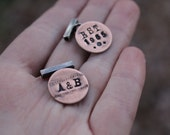 Personalized Mixed Metal Cufflinks