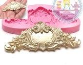 Victorian Embellishment Decorative Silicone Mold Fondant Clay Mould Cake Decoration Fondant Mould Food Safe 410L* BEST QUALITY