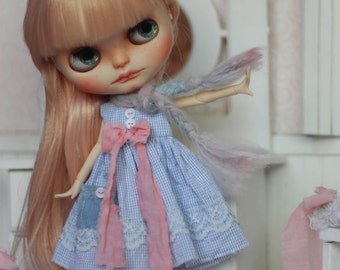 Original Cutie Store Dress - Vintage Couture - For Blythe Doll