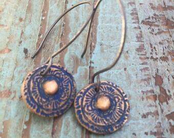 Conchula earrings