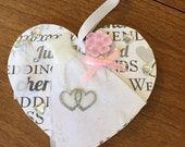 Wedding Bride Christmas Ornament - free personalization