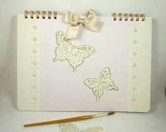 Scrapbook Album, A4 size, Wedding Planner Scrapbook, Wedding Day Memory Book, Scrapbooking,Wedding Guest Book, Anniversary or Marriage Book